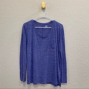 OLD NAVY Blue Long Sleeved Top